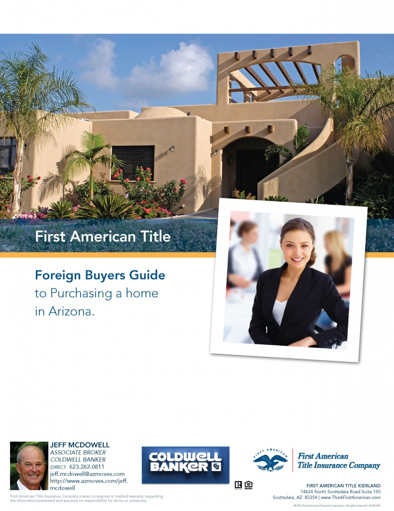 Foreign Buyers Guide to Purchasing Real Estate In Arizona