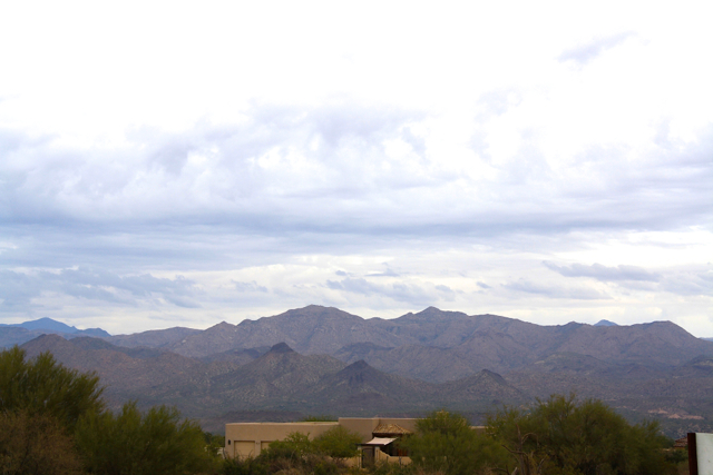 north scottsdale home with 4 peaks view
