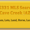 Cave Creek |AZ |MLS |Listings |500K |600K |700K |800K |900K |1M