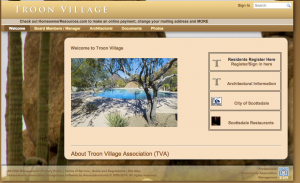 Link to Troon Village HOA